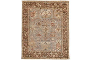 102X138 Rug-Gramoy Hand Knotted Grey/Brown