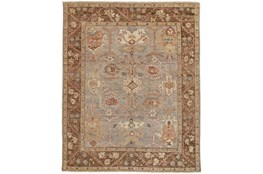 114X162 Rug-Gramoy Hand Knotted Grey/Brown