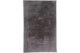 60X84 Rug-Feather Soft Shag Light Grey
