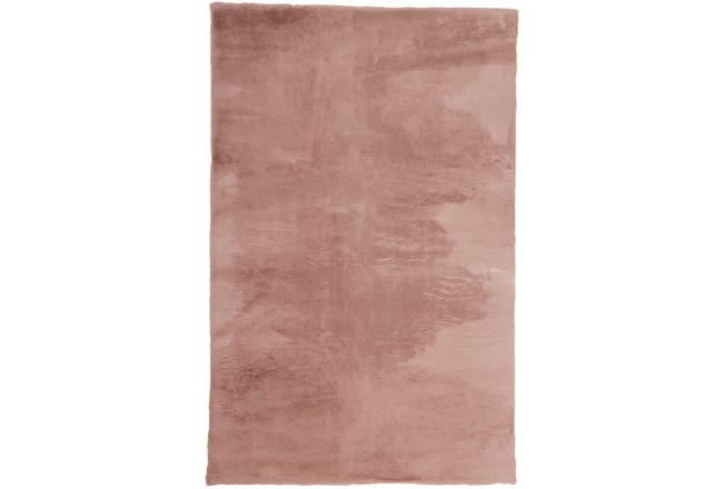 4'x6' Rug-Feather Soft Shag Pink - 360
