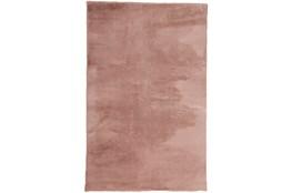 60X84 Rug-Feather Soft Shag Pink