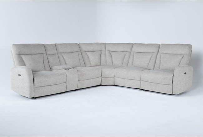 Halina 6 Piece Power Reclining Sectional - 360