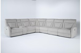 "Halina 7 Piece 154"" Power Reclining Sectional"