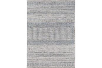"7'8""x10'2"" Rug-Print Lines Zora Blue"