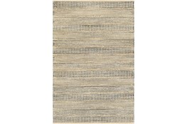 8'x10' Rug-Jute Stripes Blue/Natural