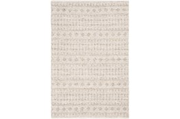 24X36 Rug-Diamond Stripe Flat Weave Natural
