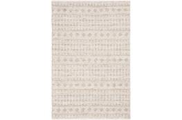 48X72 Rug-Diamond Stripe Flat Weave Natural