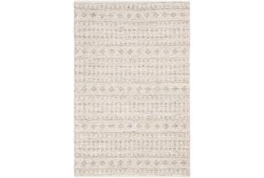 "5'x7'5"" Rug-Diamond Stripe Flat Weave Natural"