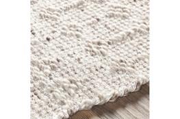 96X120 Rug-Diamond Stripe Flat Weave Natural