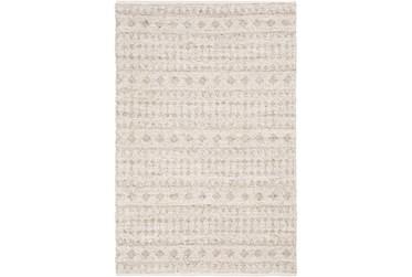 8'x10' Rug-Diamond Stripe Flat Weave Natural