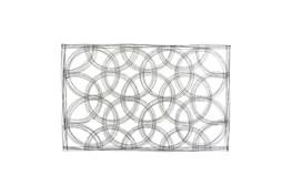 43 Inch Metal Abstract Wall Decor