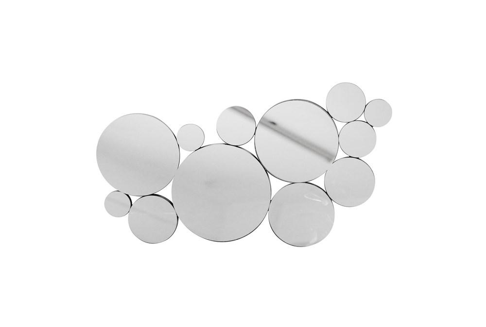 "Mirrored Circles 19"", Black Wb"