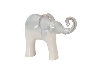 Ceramic Cream Ombre Elephant