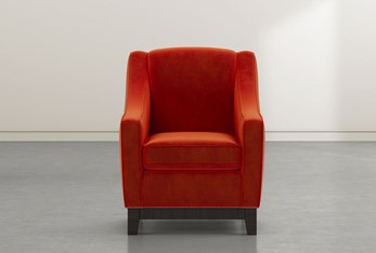 Riko II Red Accent Chair