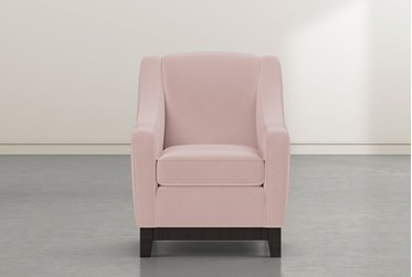 Riko II Pink Accent Chair