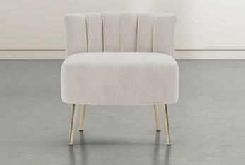 Hera Ivory Accent Chair