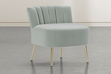 Hera Teal Accent Chair