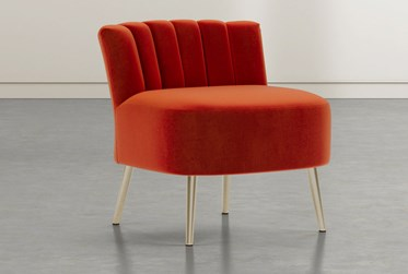 Hera Red Accent Chair