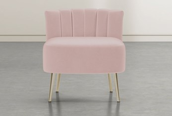 Hera Pink Accent Chair
