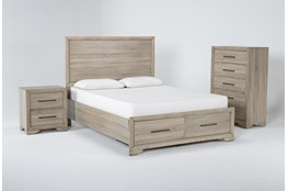 Hillsboro 3 Piece Queen Storage Bedroom Set