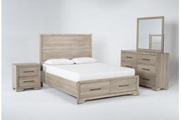Hillsboro 4 Piece Eastern King Storage Bedroom Set