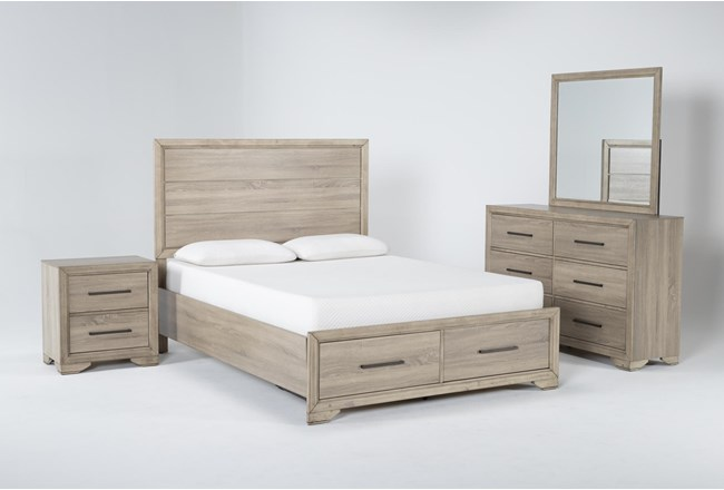 Hillsboro 4 Piece Queen Storage Bedroom Set - 360