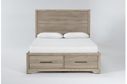 Hillsboro Full Panel Bed With Storage