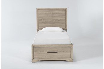 Hillsboro Twin Panel Bed With Storage