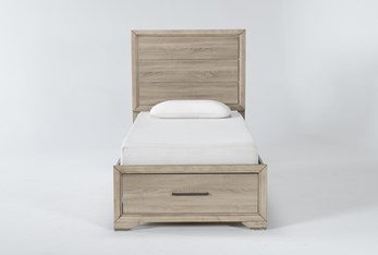 Hillsboro Twin Panel Bed With Storage