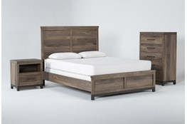 Meadowlark 3 Piece California King Panel Bedroom Set
