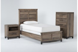 Meadowlark 3 Piece Twin Panel Bedroom Set