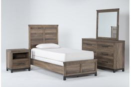 Meadowlark 4 Piece Twin Panel Bedroom Set