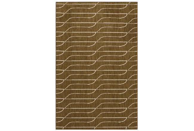 96X132 Rug-Rive Gold By Nate Berkus And Jeremiah Brent - 360