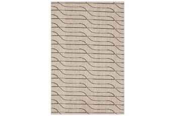 63X94 Rug-Rive Cream By Nate Berkus And Jeremiah Brent