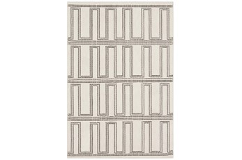 96X132 Rug-Anson Cream By Nate Berkus And Jeremiah Brent