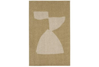 """5'3""""x7'8"""" Rug-Caillou Gold  By Nate Berkus And Jeremiah Brent"""