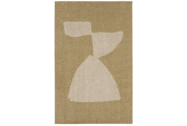 """5'3""""x7'8"""" Rug-Caillou Gold  By Nate Berkus And Jeremiah Brent - 360"""
