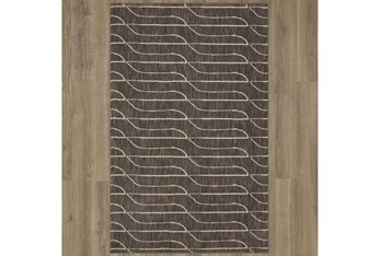 """9'5""""x12'9"""" Rug-Rive Grey By Nate Berkus And Jeremiah Brent"""