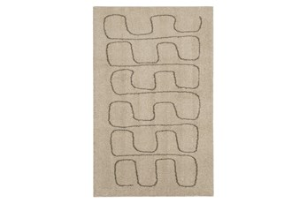96X132 Rug-Tauro Light Grey By Nate Berkus And Jeremiah Brent