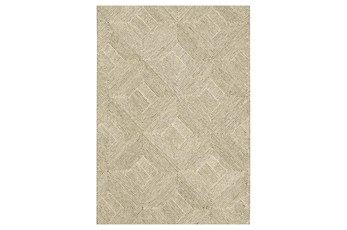 96X132 Rug-Tratta Beige By Nate Berkus And Jeremiah Brent