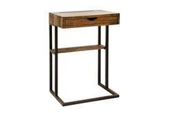 Wood + Metal C Table