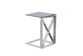 Silver X Metal C Table