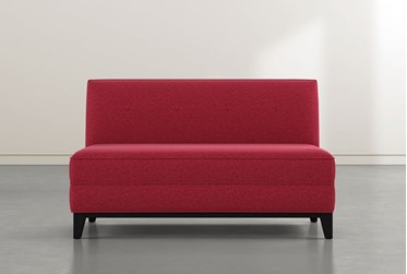 Holden IV Red Settee