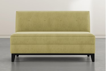 Holden IV Teal Settee