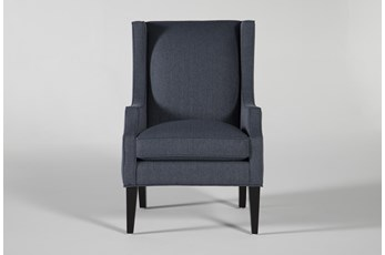Lewis Indigo Accent Chair
