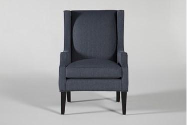 Lewis Indigo Accent Chair