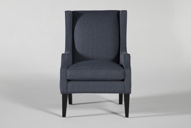 Lewis Indigo Accent Chair - 360