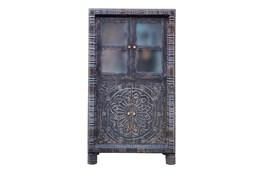 Charcoal Cam 2 Door Cabinet
