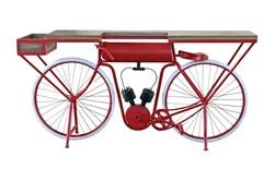 Red + White Bicycle Bar
