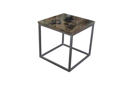 World Map Accent Table